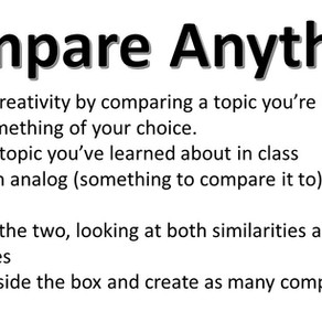 Compare Anything