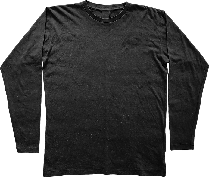 Sample Long Sleeve T-Shirt Mockup
