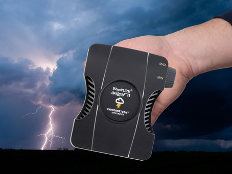 New Thunderstorm™ Air Purifier Destroys Viruses and 99.9% of Air Pollution