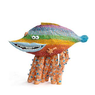 レインボー魚くんタコ