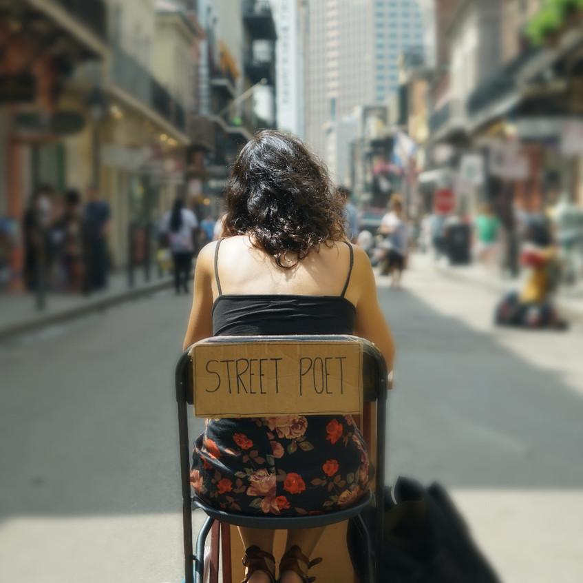 Street Poet New Orleans