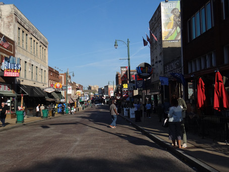 Walking in Memphis...