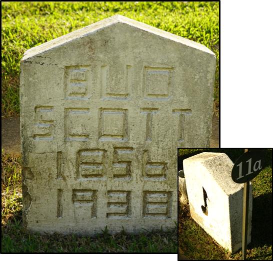 Bud Scott Grave 2