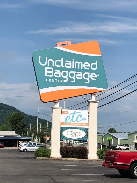 unclaimed airline baggage