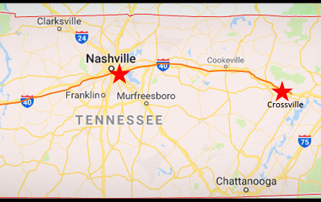 Crossville, Tennessee: a small town with not much going on (but that might not be a bad thing)