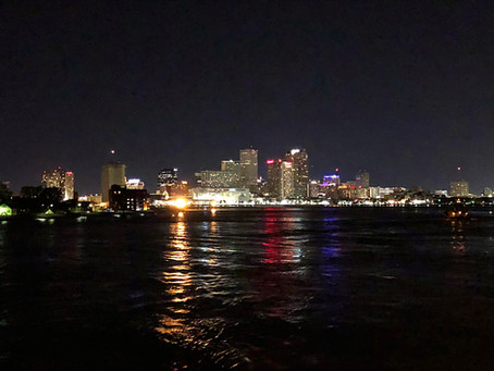 New Orleans in our rear-view mirror