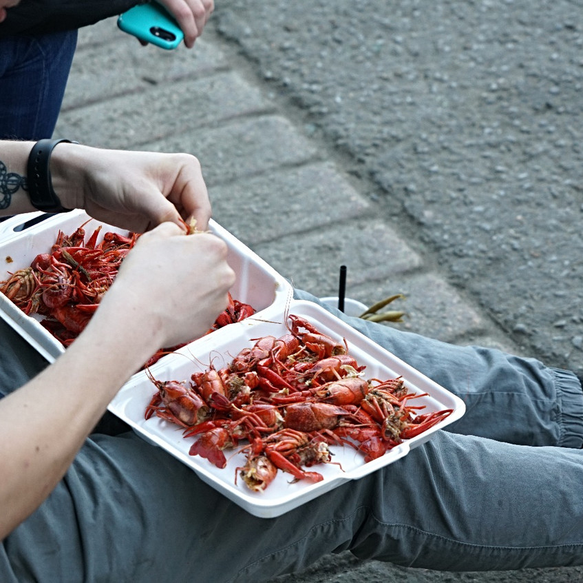and more crawdads
