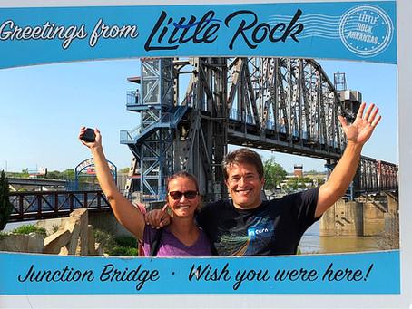 Leaving Little Rock...