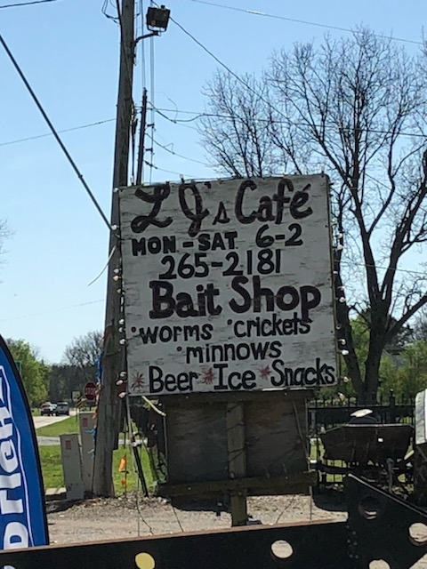 coffee and bait