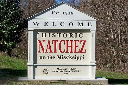 Welcome to historic Natchez