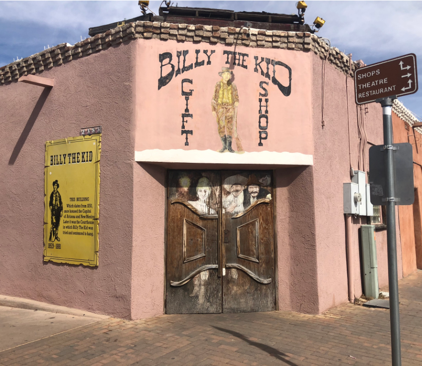 Billy the Kid was tried here, NM