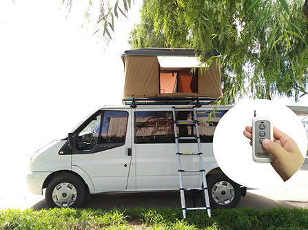 automatic rooftop tent