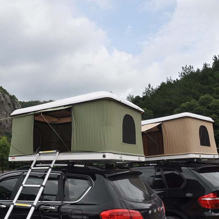Hard shell roof top tent, hard top roof top tent, hard shell