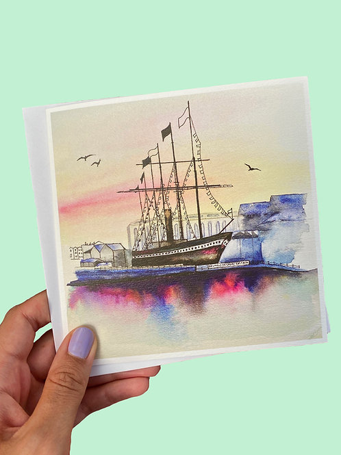SS Great Britain Card
