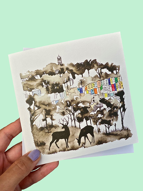 Bristol Deer Card