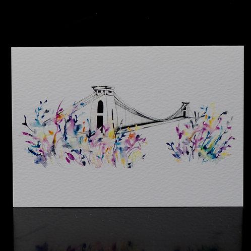 Carnival Suspension Bridge Card