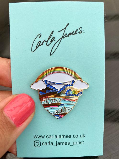Love Bristol Pin Badge