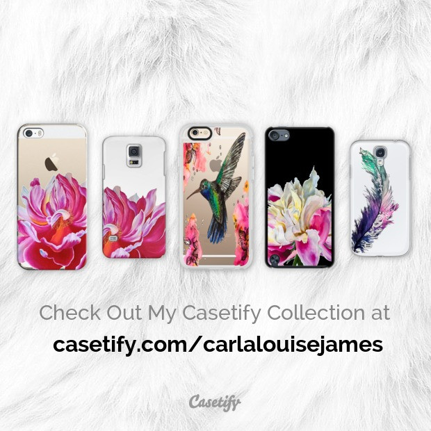 Recently accepted as a Casetify verified artist, I now have a collection of designer phone covers.