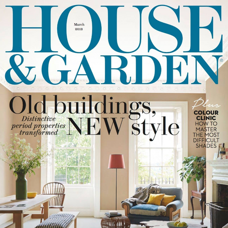 House and Garden March issue 2018