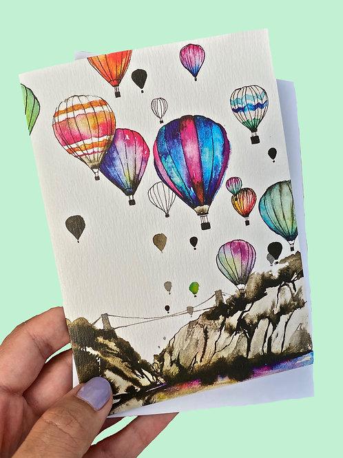 Bristol Balloons Card
