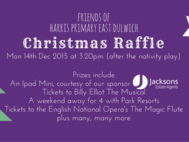 Raffle tickets at the ready!