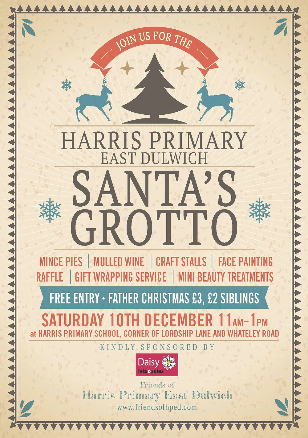 Harris Primary East Dulwich xmas
