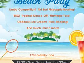 Tropical Beach Party!