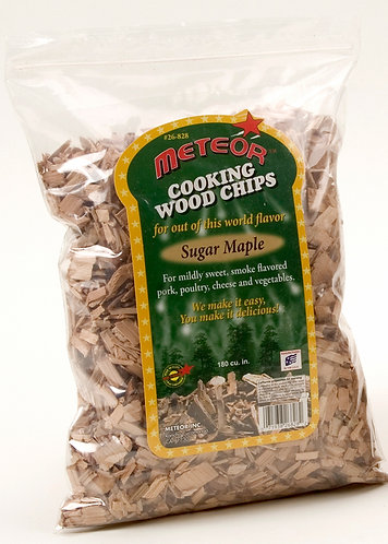 SUGAR MAPLE WOOD CHIPS