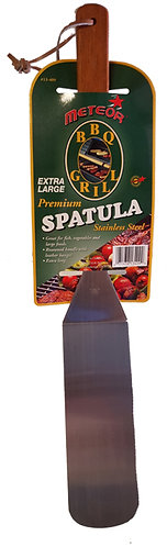 EXTRA LONG STAINLESS STEEL BLADE WITH ROSEWOOD HANDLE SPATULA