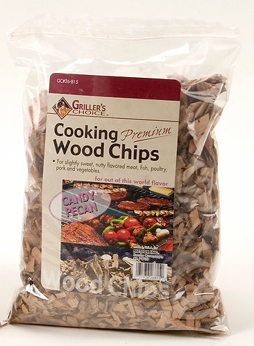 CANDY PECAN WOOD CHIPS