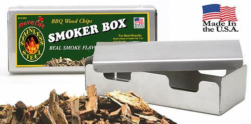 UNIVERSAL STAINLESS STEEL SMOKER BOX