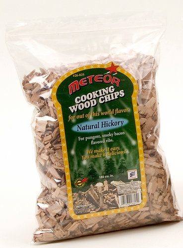 NATURAL HICKORY WOOD CHIPS
