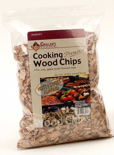 NUTTY SWEET ALMOND WOOD CHIPS
