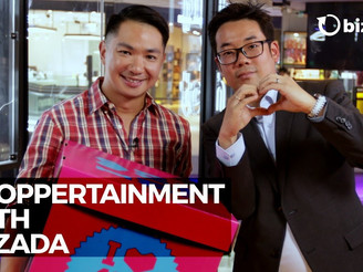 Shoppertainment With Lazada