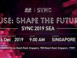 Get Ahead of Technology Trends At SYNC SEA 2019 Summit in Singapore