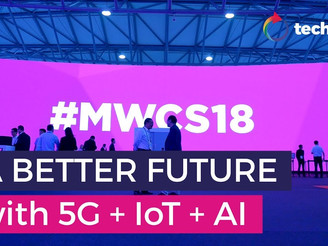 MWC Asia 2018: A better future with 5G, IoT and AI