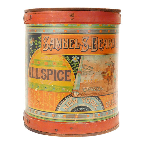 Samuel S. Beard and Company - Allspice container