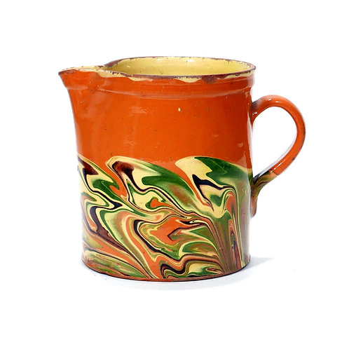One of the best 19th century Jaspe pitchers