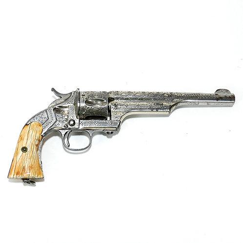 Merwin & Hulbert Engraved Single Action Revolver