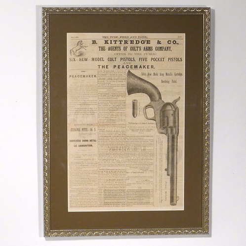 Colt Peacemaker Ad