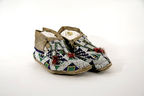 Sioux Beaded Mocassins