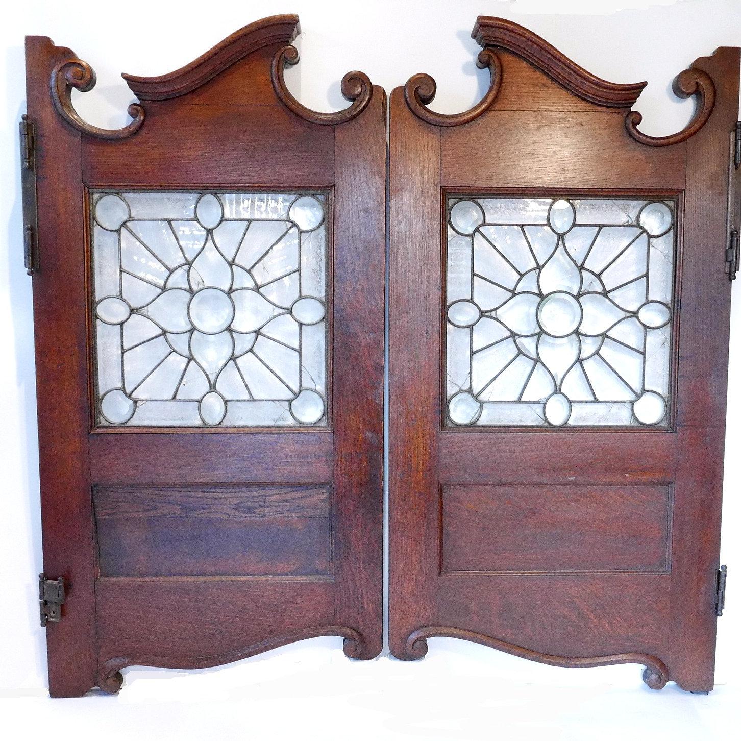 Circa 1880's Antique Saloon Doors - Michael Friedman Antiques & Decorative Arts Dealer Friedman