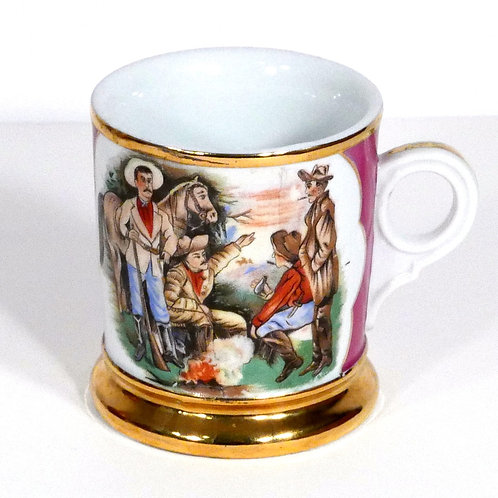 Cowboy Occupational Shaving Mug