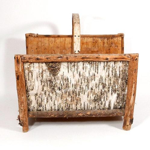 Adirondack Birchbark Log Carrier