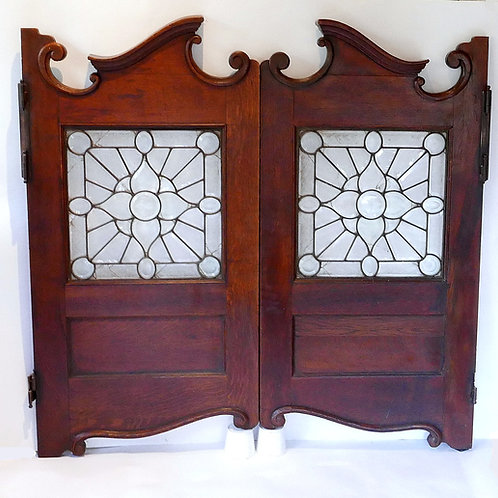 Circa 1880's Antique Saloon Doors