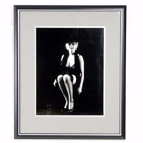 Marilyn Monroe, Signed Photograph by Milton Greene