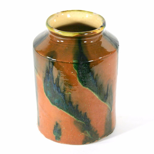 French Provincial Slip Decorated Jar