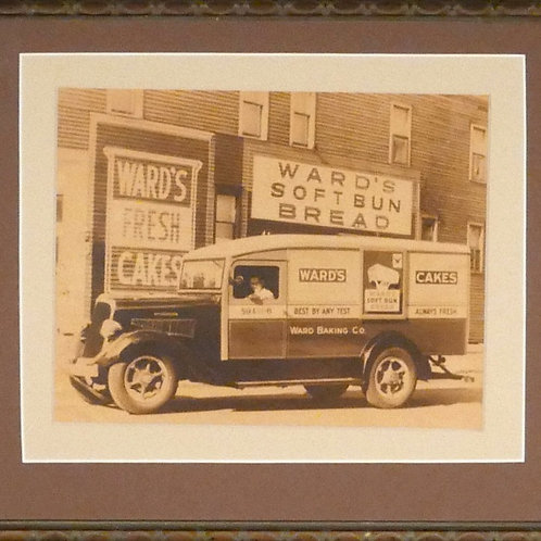 Ward's Fresh Cakes Antique Photo, Ward Baking Co.