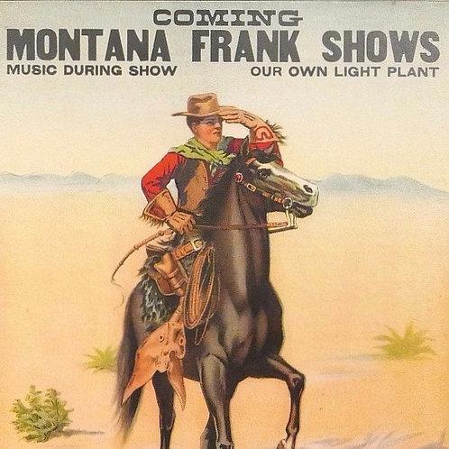 Montana Frank Poster