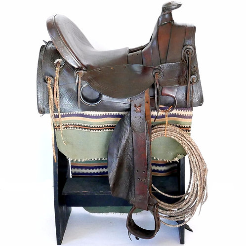 19th Century Cowboy Trail Saddle